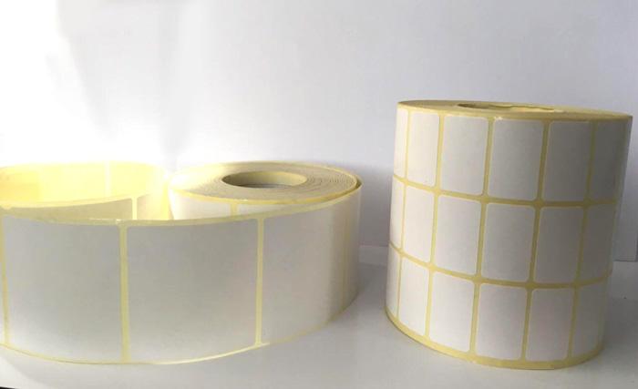 برچسب کاغذی سه ردیفه پرینتر لیبل زن Paper Label 15x34