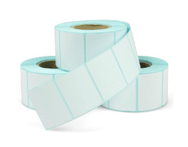 برچسب کاغذی تک ردیفه پرینتر لیبل زن Paper Label 20x40